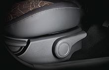 Front seat adjustment